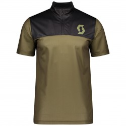 MAILLOT MS TRAIL FLOW ZIP S/SL